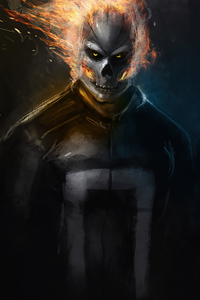 240x400 Ghost Rider 2020 Artwork