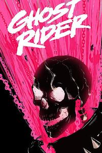 1242x2688 Ghost Rider 2020 Minimal