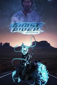 240x320 Ghost Rider 2099 4k