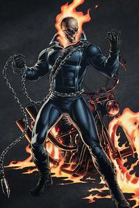 240x400 Ghost Rider 4k Arts