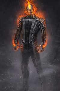 Ghost Rider 4k Artwork