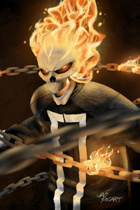 Ghost Rider Agents Of SHIELD Art