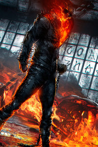 1080x2280 Ghost Rider Hd 2020