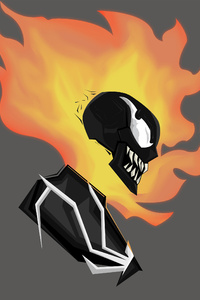 750x1334 Ghost Rider Into The Venomverse