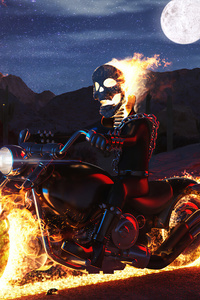 320x568 Ghost Rider Lego 4k