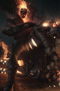 540x960 Ghost Rider Marvel Contest Of Champions 4k