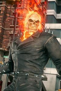 640x1136 Ghost Rider Marvel Vs Capcom Infinite