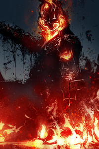 Ghost Rider New Artwork
