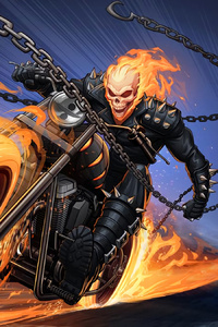750x1334 Ghost Rider Superhero