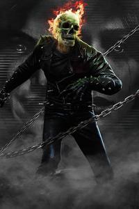 1080x2280 Ghost Rider X Wanda Vision