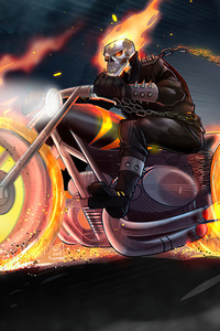 Ghostrider On Bike 5k