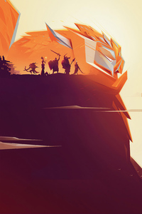 480x800 Gigantic Game Poster 4k