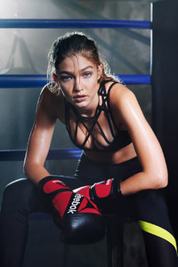Gigi Hadid By Cathrine Wessel For Reebok