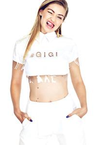 Gigi Hadid Elle 2017