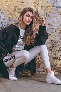 Gigi Hadid Reebok Be More Human Photoshoot 2018