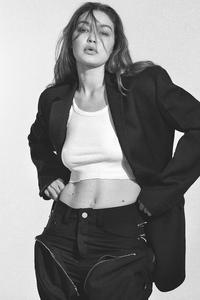 240x320 Gigi Hadid US Harpers Bazaar 4k