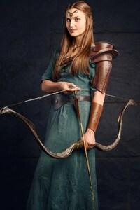 640x1136 Girl Archer
