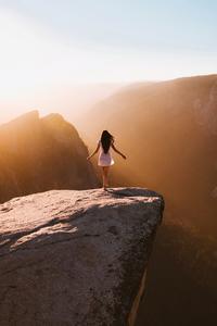 360x640 Girl At Yosemite