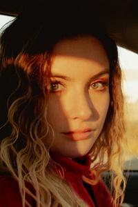 Girl Car 80s Portrait 5k