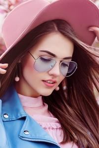 640x1136 Girl Hat 5k