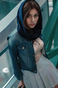720x1280 Girl Model Hijab 4k