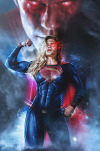 1080x2160 Girl Of Steel Supergirl