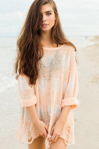 Girl On Beach 2