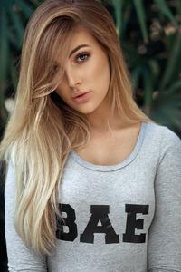 Girl With Bae Shirt