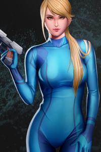 Girl With Gun Art