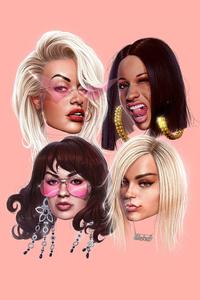 Girls Featuring Cardi B Bebe Rexha Charli Xcx Rita Ora