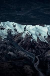 240x400 Glacier Mountain 8k