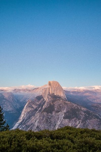 320x568 Glacier Point Yosemite 5k