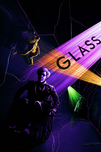 640x1136 Glass Movie Fan Poster