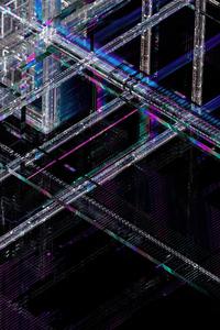 640x1136 Glass Pascal 4k