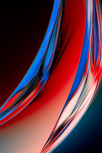 Glass Reflection Colors Abstract 8k