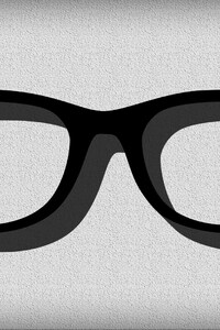 320x480 Glasses Vector