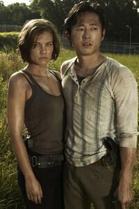 320x480 Glenn Maggie Walking Dead