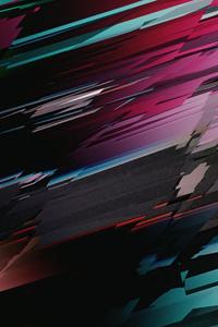 480x800 Glitch 3d Abstract 5k