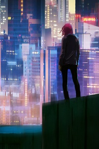 Glowing City 4k