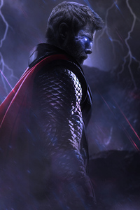 1440x2560 Glowing Eyes Thor 4k