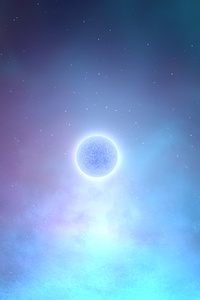 1080x2280 Glowing Planet