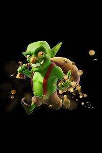 240x400 Goblin Clash Of Clans