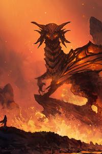 God Of Fire Dragon 4k