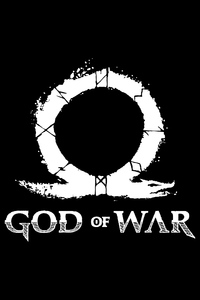 540x960 God Of War 2018 Logo 4k