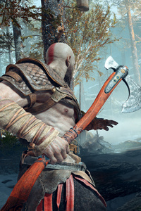 God Of War 4 2018 Ps4 4k