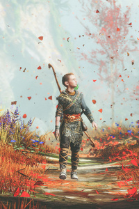 540x960 God Of War 4 Atreus