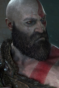 480x800 God Of War 4 E3 2017