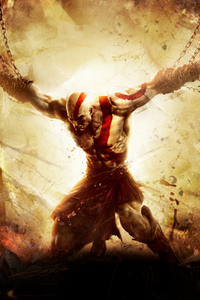 1080x2160 God Of War Ascension