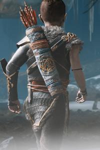 540x960 God Of War Atreus Ps5 4k