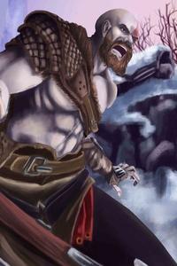 540x960 God Of War Fanart